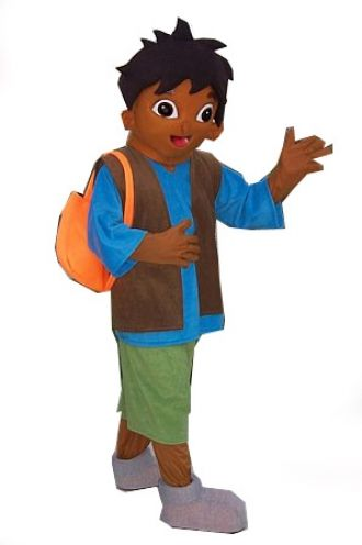 parties dora the explorer or go diego go birthday party character ...