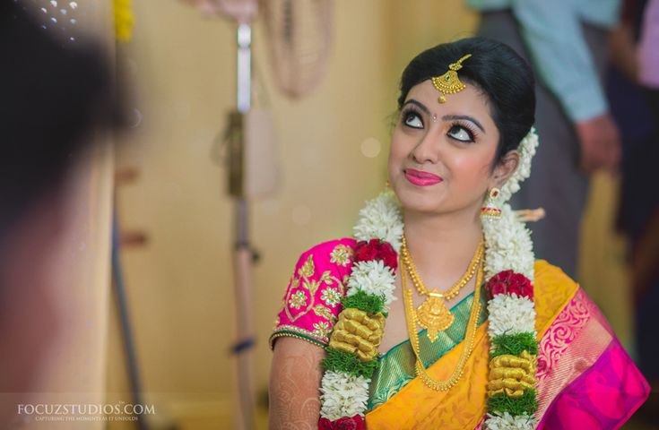 South Indian Bridal with Pattu Saree and Stunning makeup  #SouthIndian   #BridalSaree   #Bridalmakeup
