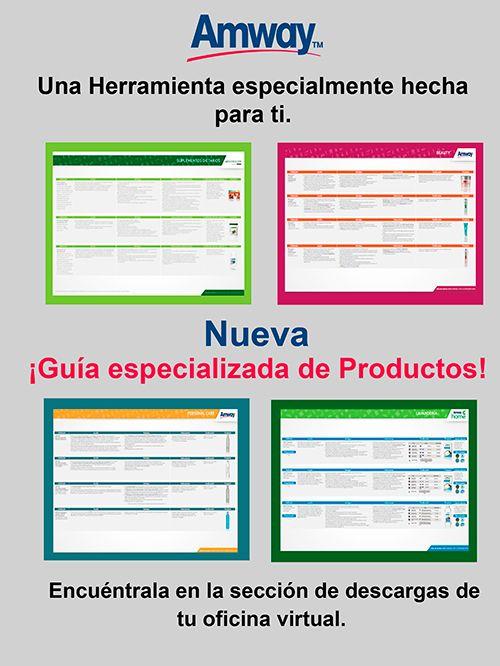 ¡Nuevas! Guías Especializadas de Productos