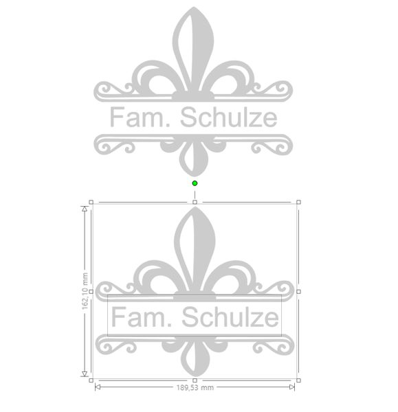 Tür- & Namensschilder - Briefkastenschild, Namensschild, Briefkasten - ein Designerstück von Mutschis_Laedchen bei DaWanda
