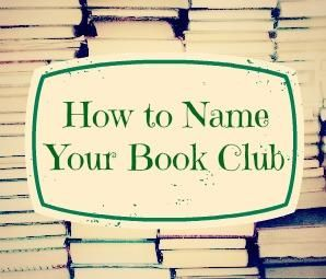 I can't describe how much I appreciate a good pun! How To Name Your Book Club -Momo