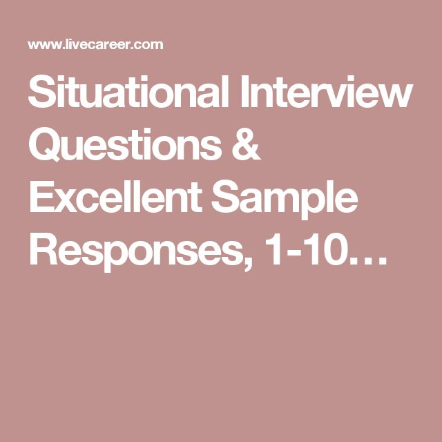 The 25+ best Situational interview questions ideas on Pinterest - sample interview thank you letter