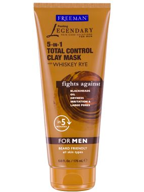 5-in-1 Total Control Clay Mask with Whiskey Rye from Freeman | Find more cruelty-free beauty @Quirkist |