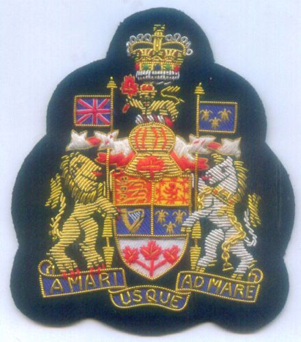 Canada Commonwealth UK Kingdom State Royal Regalia Crest Arms Seal Nation Patch | eBay