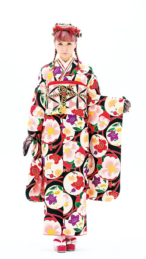 Yesterday and today, the kimono in the context of cosplayers.