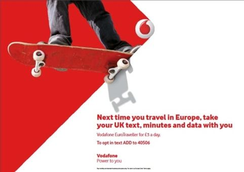 New Vodafone visual identity. They dropt the old, squared v.i.. Loved that one...