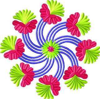 embroidery stars   free embroidery designs   neckline designs ...