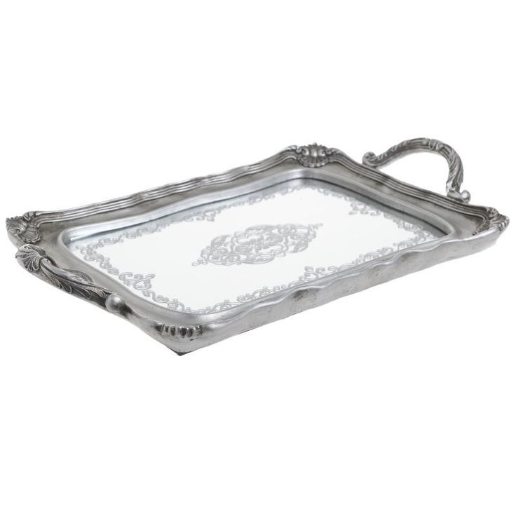 Tray With Mirror - Trays - Placemats - DECORATIONS - inart