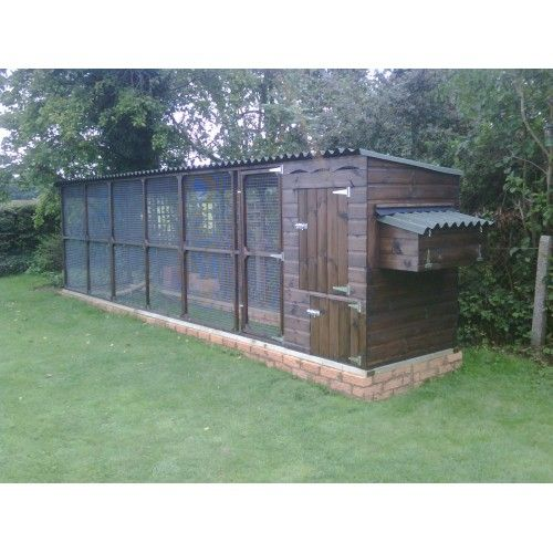 The James Chicken Coop Hen House and Chicken Run