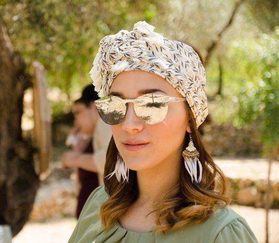 Pashmina, head wrap, scarf headband, turban, floral headscarf, woman headbands, head covering, scarf, Tichel head scarf , headband, gift  – Products
