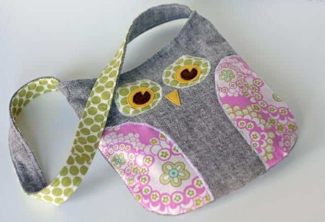 sew an owl purse