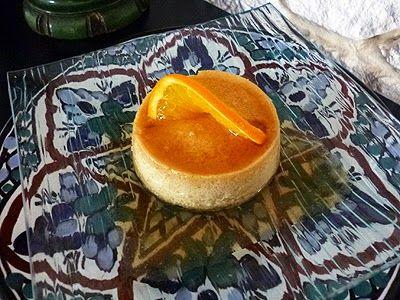 Crème renversée à l'orange #recipe #dessert