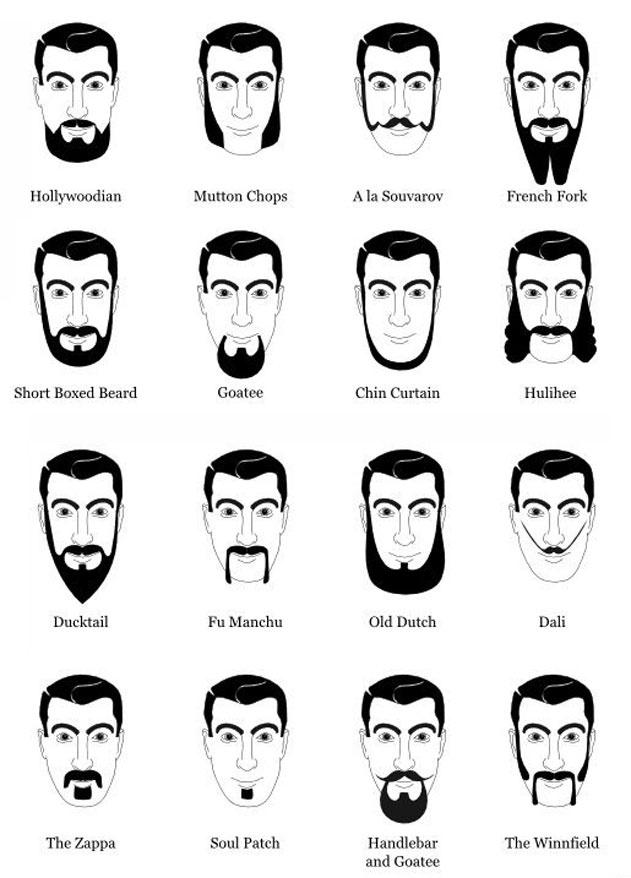 Beards 1 Hairstyle Names Men Haircut Styles Mens Facial Hair Styles