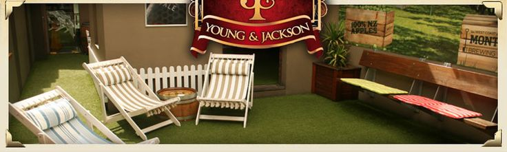 Young and Jackson's rooftop Cider Bar