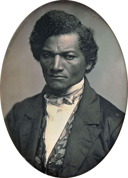 """Photo: Frederick Douglass   - September 16, 1837 William Whipper, an African-American businessman from Lancaster County, Penn., published """"An Address on Non-Resistance to Offensive Aggression"""" in the The Colored American, outlining his commitment to a non-violent response to the evils of slavery. This landmark essay predated Henry David Thoreau's on """"Civil Disobedience"""" by 12 years.  """"...fatal error arises from the belief that  only method of maintaining peace, is always to be ready for…"""