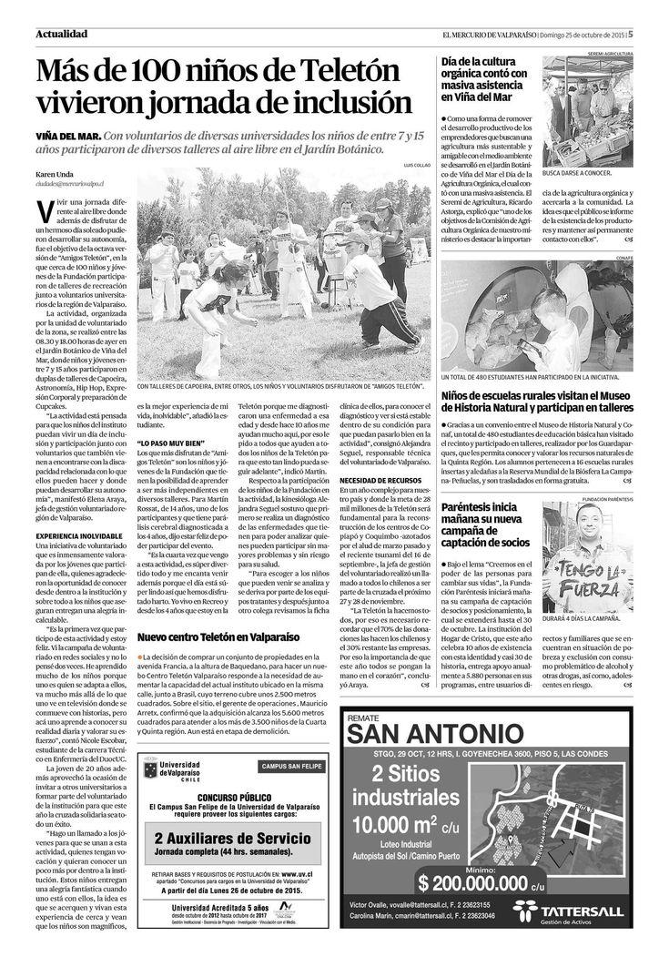 Página 5 | El Mercurio de Valparaíso - 25.10.2015