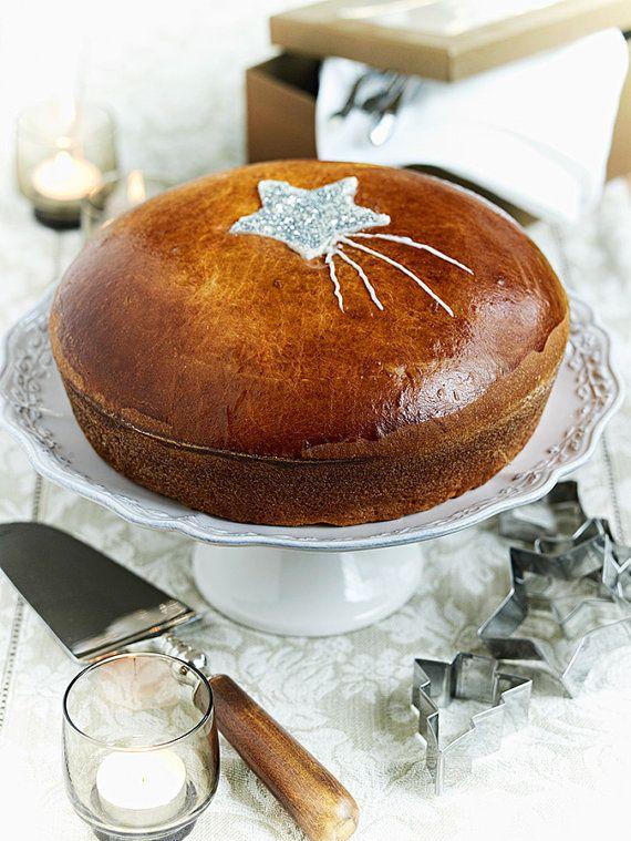Make your own Vasilopita St.Basil pie or Tsoureki greek by Armenos