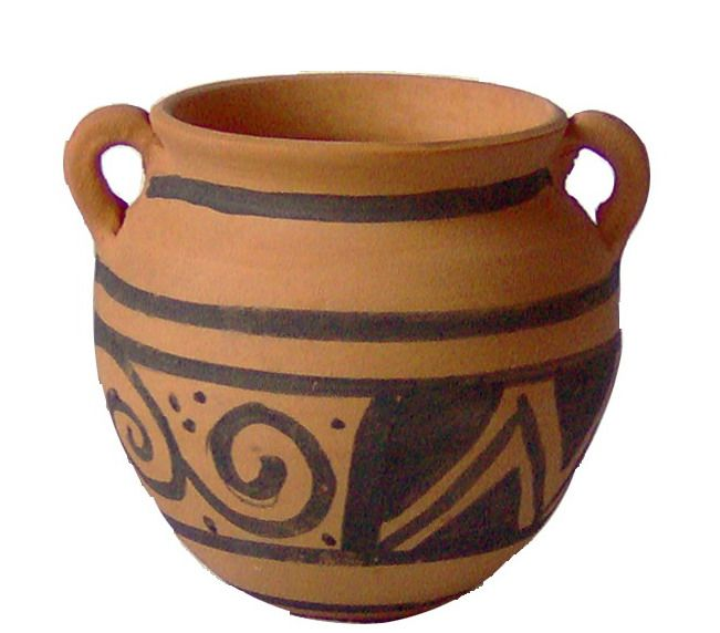 26 best nabataean painted pottery images on pinterest for Pot painting materials required
