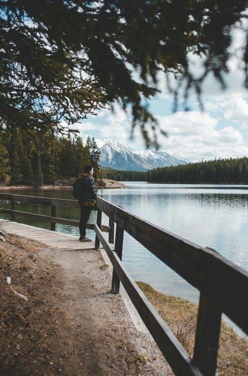 Image via We Heart It #boy #calme #perfect #travel #lac
