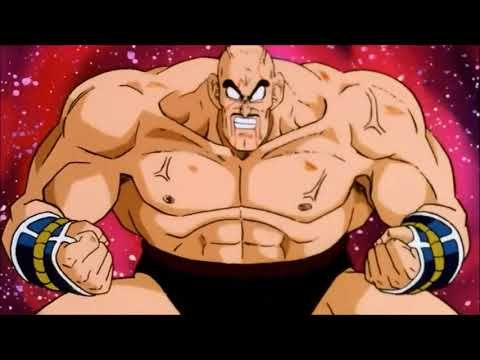 Goku vs Nappa The Fight of Between Saiyans