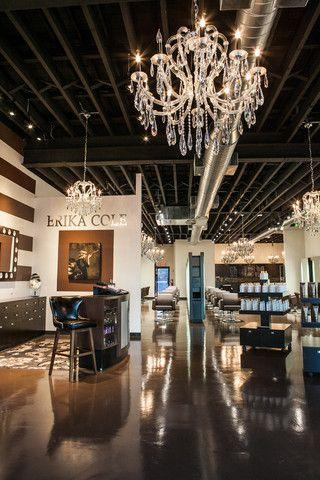 erika cole beauty salon nice design specialty interiors. Black Bedroom Furniture Sets. Home Design Ideas