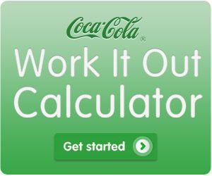 Work It Out Calculator....tells you how much to work out after drinking that soda/pop.