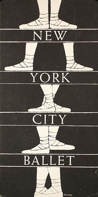 nyc, ballet.: Cities Ballet, New York Cities, Edwardgorey, Nyc Ballet, Poster, Edward Gorey, New York City, Nycballet, Dance