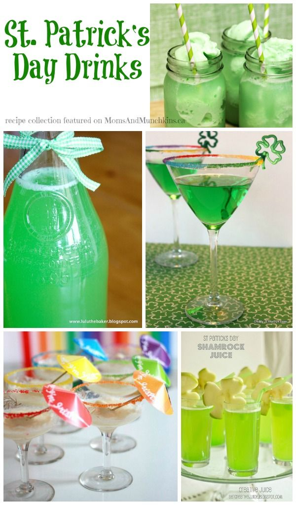 St. Patrick's Day Drinks (Family-Friendly) - Moms & Munchkins