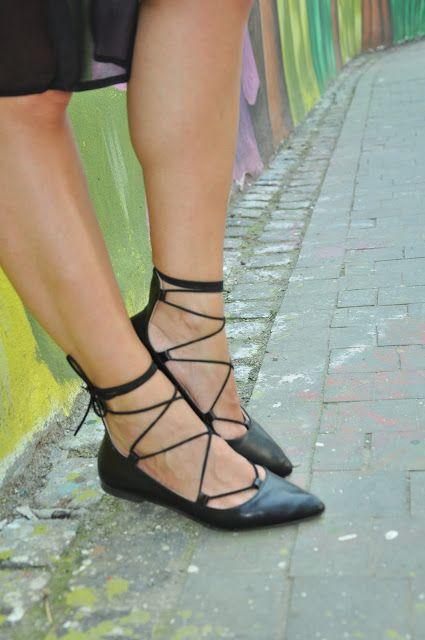 lace shoes parfois