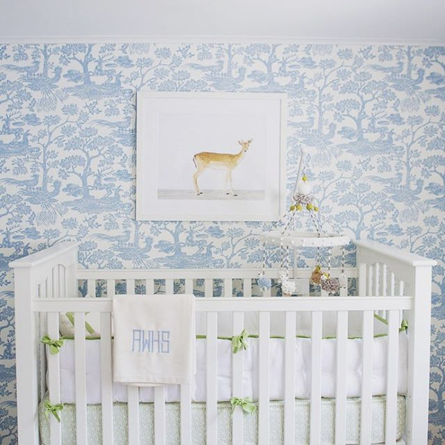 Millbrook #nursery. the animal printshop matouk linens quadrille fabrics | Ashley whittaker