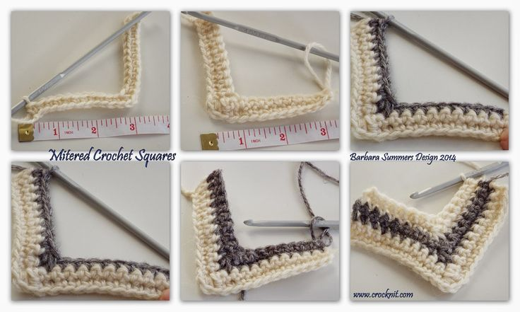 mitered square knitting instructions