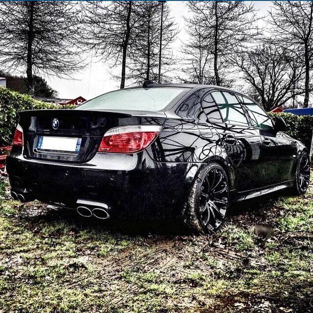 BMW E60 Black!