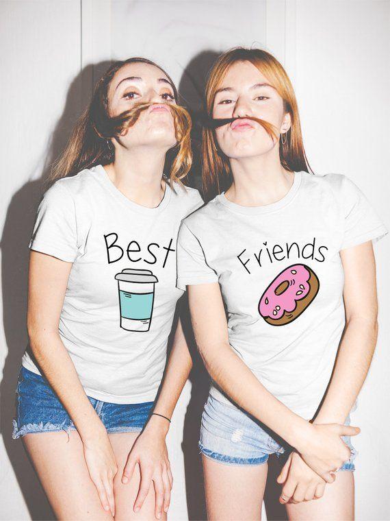 266dea08 Best Friends shirts best friends shirt for two friends shirts donut ...
