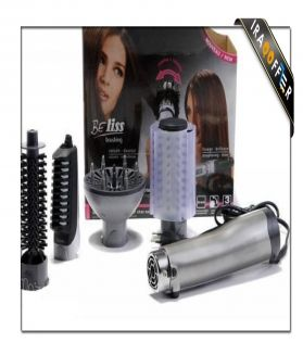 Hair dryer with rotary brush Babyliss French brand