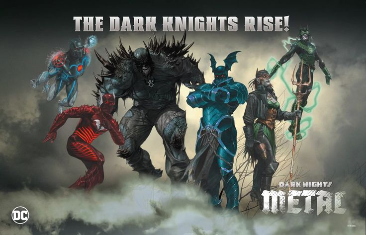 DC Reveals Six Of Seven Twisted Batmen From 'Dark Nights: Metal'