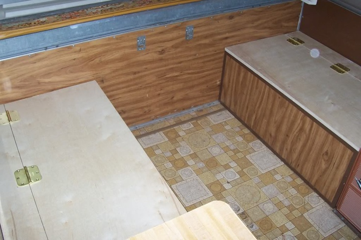 If the rest of the kitchen isnt there, then we would extend these storage seats further down.