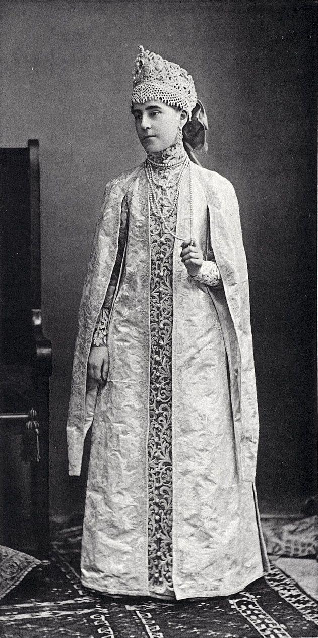 Princess Marie Obolenski at the Winter Palace Costume Ball of 1903.....057 by klimbims on deviantART