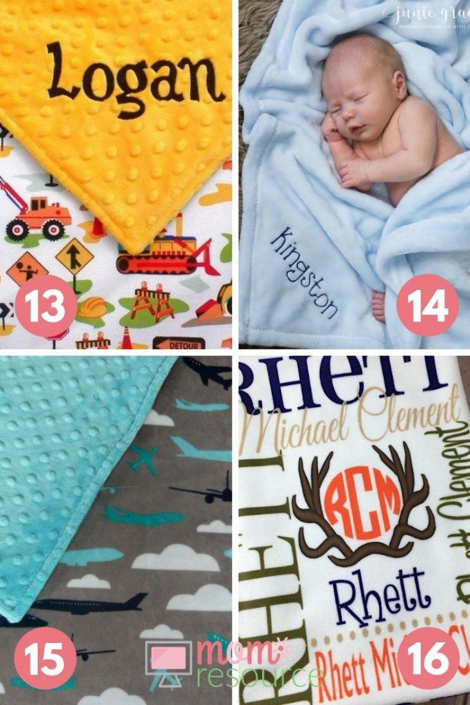 New  Baby Boy Gift Baby Boy Construction Worker Design Blanket Is The Perfect Baby Boy Shower Gift Or Baby Boy Blanket