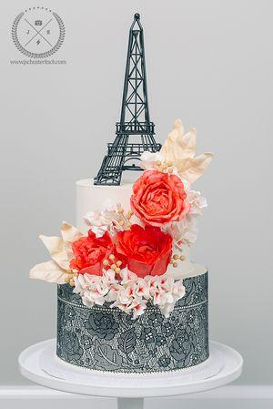 Paris Lace Cake