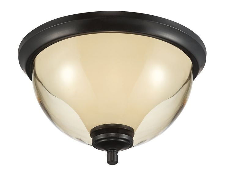 Designers Fountain 31722-ORB Stockholm Transitional Outdoor Flush Mount Ceiling Light DF-31722-ORB