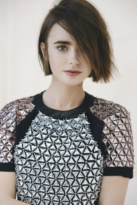 Lily Collins On Love, Jennifer Lawrence And Her Very Famous Dad