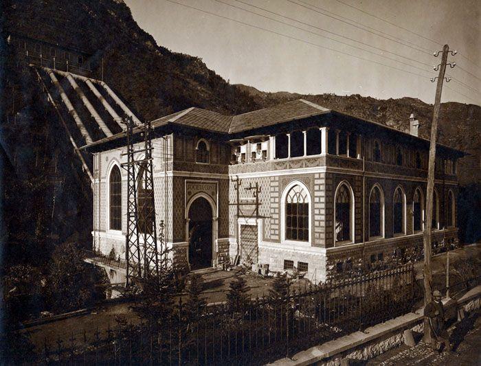 Ricostruzione della centrale idroelettrica di Zogno Zogno (Bergamo) 1916