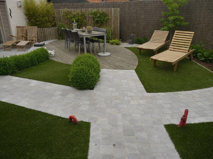Prijzen kiezelstenen oprit google zoeken tuinen pinterest - Tuin decoratie met kiezelstenen ...