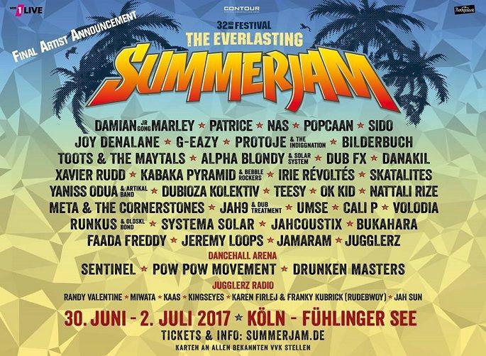 Summerjam Festival 2017  #germanfestival #germany #Reggaefestival #summerfestival #summerjam #Summerjam2017 #SummerjamFestival2017 #theeverlasting