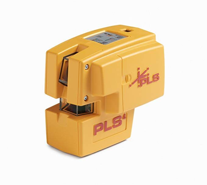 Pls 4 Red Cross Line Laser Level With Plumb Bob And Level Pls 60588 By Pacific Laser Systems Laser Levels Red Cross Plumbing