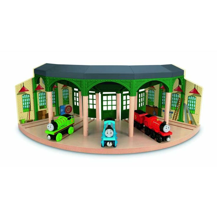 Thomas & Friends Wooden Railway Tidmouth Sheds | Toys R Us Australia