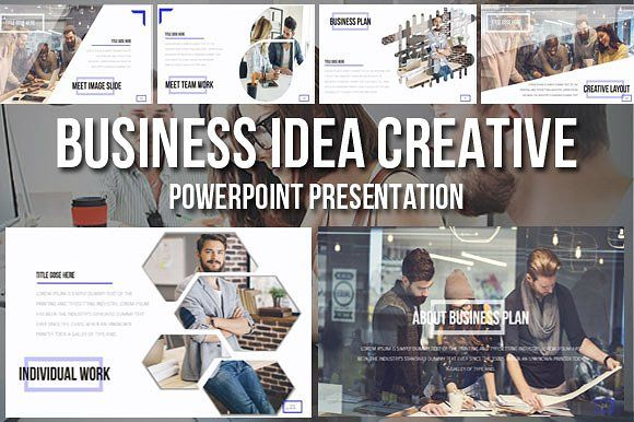 Business Idea Creative Presentation by Aishwaryarai on @creativemarket