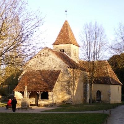 l'église de Nohant dans l'indre où à vévu notre écrivain George Sand (Aurore Dupin)...(la petite fadette, la mare au diable)..