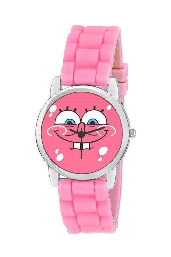 Spongebob Cute Illustration Kids Wrist Watch