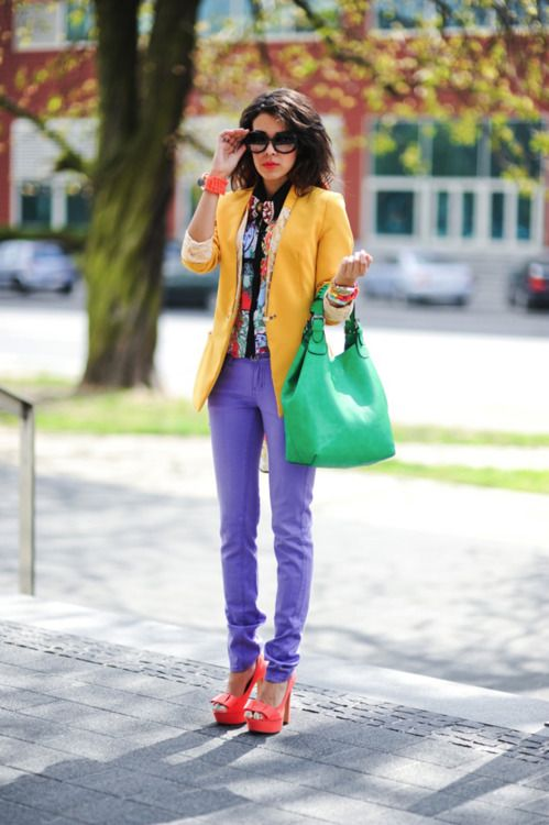 R.I.P. Prince: Celebrating the Iconu0027s Unforgettable Influence. Color  Blocking OutfitsComplimentary ColorsYellow ...